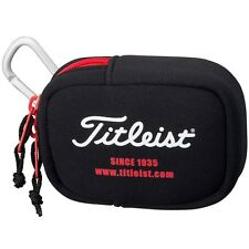 Titleist Japan Golf Small Ball Pouch Case Bag 2017 Model AJBC51 Black with Hook