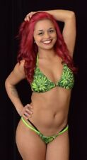 WEED DOUBLE STRING THONG & BRA SET - by Minor Creations - Made in the USA
