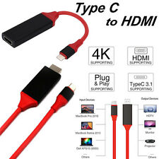 USB Type-C Micro USB MHL to HDMI Cable Adapter HDTV for Samsung Galaxy S8