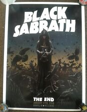 Black Sabbath Poster Print Limited Numbered Winnipeg The End Tour 2016