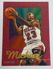 1995-96 NBA HOOPS | POWER PALETTE | CHICAGO BULLS | MICHAEL JORDAN