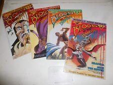 BLOOD OF THE INNOCENT - Set of 4 Comics  (1 - 4) - 1986 - Warp Comics