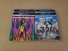 New listing Wonder Woman 1984 + Justice Society World War Ii w/Slipcovers (4K Hd & Blu-ray)