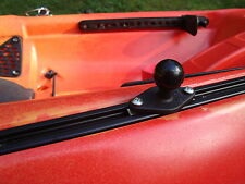 "1"" RAM Ball Mount for Slidetrax Slide Rail Wilderness Kayak Screwball"