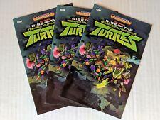 Halloween ComicFest 2018 Rise of the Teenage Mutant Ninja Turtles x3