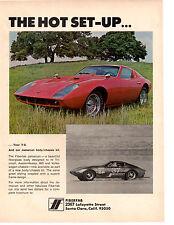 1969 FIBERFAB JAMAICAN V8 KIT CAR ~ ORIGINAL PRINT AD