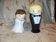 WEBCO BRIDE & GROOM VINTAGE STEINS- 1ST EDITION- CHARMING COUPLE- DISPLAYED- SEE