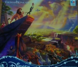 Thomas Kinkade Puzzle Lion King 300 Piece Ceaco Puzzle New Sealed