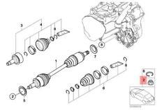 Genuine Mini Cooper 2002 2003 - 2012 Nut for Wheel Bearing/Axle (22 X 1.5 mm)