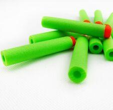 40 PCS GREEN 7.2cm Refill Bullets darts for Nerf N-Strike Elite Gun  *CHEAPEST*