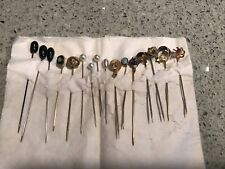 Lot Of 16 Vintage Hat Pins/Stick Pin