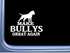 "American Bully Maga cropped L706 Dog Sticker 7"" decal"