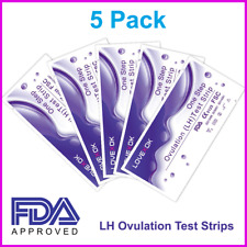5 Pack Early Ovulation Detection HL Test Strips FDA Approved US Seller NEW