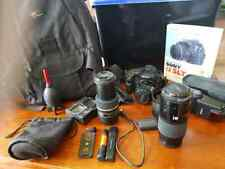 Sony SLT-A77V digital SLR/T camera and accessories