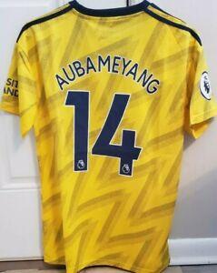 Aubameyang Jersey Arsenal Away Bruised Banana kit 2019/20 Size M NWT