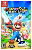 *NEW* Mario + Rabbids: Kingdom Battle (Nintendo Switch) Brand New Factory Sealed