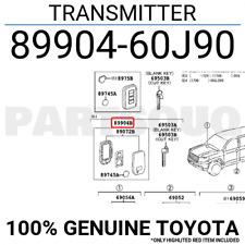 8990460J90 Genuine Toyota TRANSMITTER 89904-60J90