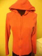 JonesNewYorkSport Pink HoodedZipperUp Sweater LongSleeves Sz M