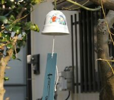New Arita Ninomiya Kanzan Porcelain Furin Japanese Wind-bell Made in Japan H-WK