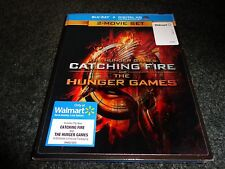 THE HUNGER GAMES & CATCHING FIRE-2 movies-LENTICULAR COVER-Jennifer Lawrence BLU