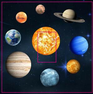 Planets Solar System Light Switch Sticker Vinyl Skin space earth sun moon