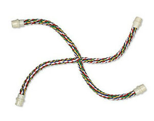 """BOODA BYRDY COMFY CABLE CROSS PERCH 25""""X25""""X5/8"""" BIRD TOY ROPE SMALL COLORS VARY"""