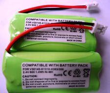 2 x SIEMENS GIGASET COMPATIBLE BATTERY 2.4V V30145-K1310-X359