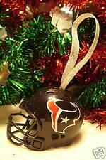 9943100b824 Christmas Bell Football Helmet Ornament Houston Texans