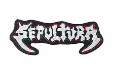 SEPULTURA mbroidered Rock Band Iron On or Sew On Patch UK SELLER Patches