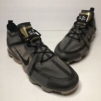 Nike Air Vapormax Men's Sneakers SIZE 13 Shoes AR6631-002 Black Gold Xi