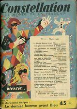 Revue Constellation N°11 - Raymond Chandler : L'ongle - EO 1949