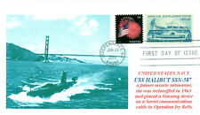USS HALIBUT SSGN-587 Nuclear Submarine Cover Intelligence Operation Ivy Bells