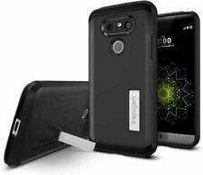 LG G5 Case, Spigen Tough Armor Shockproof Protective Cover - Black