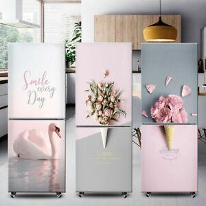 Vinyl Fridge Door Sticker Self Adhesive Mural Contact Paper Refrigerator Decals