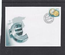 Estonia  2014 Euro Coins First Day Cover FDC Tallin h/s