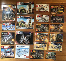 Lego Instruction Manuals Star Wars Bulk Lot 383