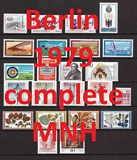 Berlin Complete Year 1979/1980 MNH Stamps, Mi. 591-636, Germany, 2 pictures