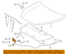 TOYOTA OEM 14-15 Highlander Hood-Lock Latch 535100E100