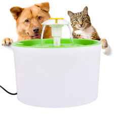 Flower Style Filter Fountain Pet For Automatic Cat Dog Water Drinking EU Plug