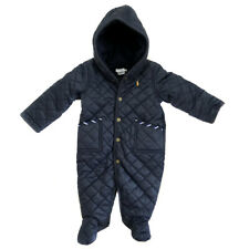 New RALPH LAUREN Navy Blue Snowsuit Puffer Jacket Coat Baby Boys 6 Months