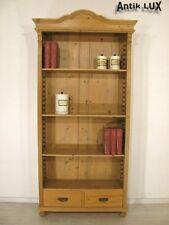 Bücherregal Massivholz Schrank Landhaus Weichholz Bücherschrank Kommode