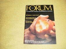 vintage FORUM Vol 4 No 7 1976 The Australian Journal Of Interpersonal Relations