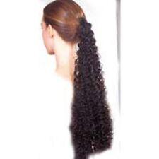 Rajout noir frisé Postiche natte coiffure deguisement theatre costume coiffure