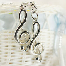 Creative Music Notes Symbol Metal Keychain Ring Keyring Key Fob Funny Gift W8