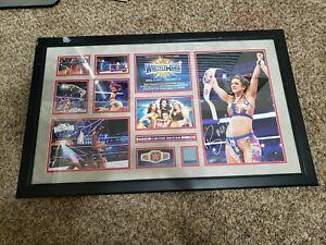 Commemorative Wrestlemania 33 plaque WWE Bayley