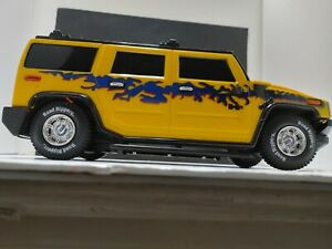 Rare 2004 H2 Road Rippers Hummer By Toy State SEE VIDEO.