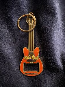 Hard Rock Hotel & Casino Hollywood, FL - Guitar Keychain Bottle Opener