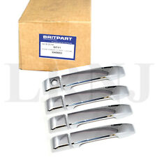 LAND ROVER RANGE ROVER L322 UP TO 2010 DOOR HANDLE COVER PLASTIC CHROME SET OF 4