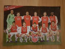 AZ Alkmaar v Valencia CF 29-03-2012 UEFA paper hand clapper / voetbalklapper