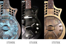 Jonathan Optional Finishes Cutaway Electric Parlor Resonator Guitar